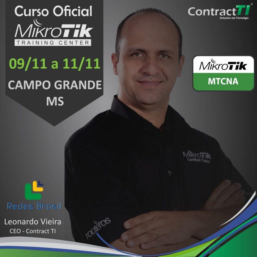 Curso MikroTik MTCNA em Campo Grande MS - Contract T I